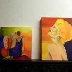 Twee Schilderijen